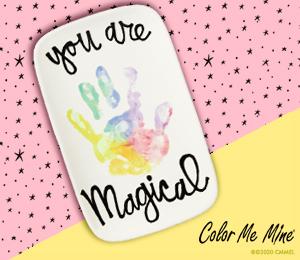 Delray Beach Rainbow Handprint