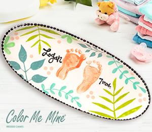 Delray Beach Tropical Baby Tray