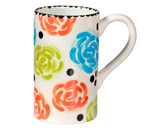 Delray Beach Simple Floral Mug