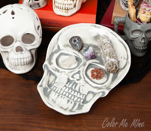 Delray Beach Vintage Skull Plate