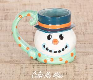 Delray Beach Snowman Mug