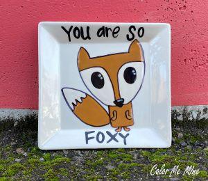 Delray Beach Fox Plate