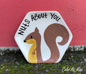 Delray Beach Squirrel Plate