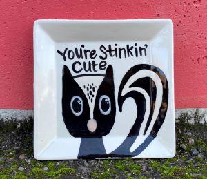 Delray Beach Skunk Plate