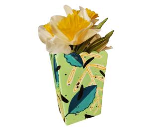 Delray Beach Leafy Vase