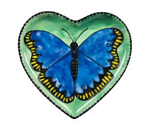 Delray Beach Butterfly Plate
