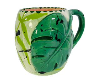 Delray Beach Monstera Mug